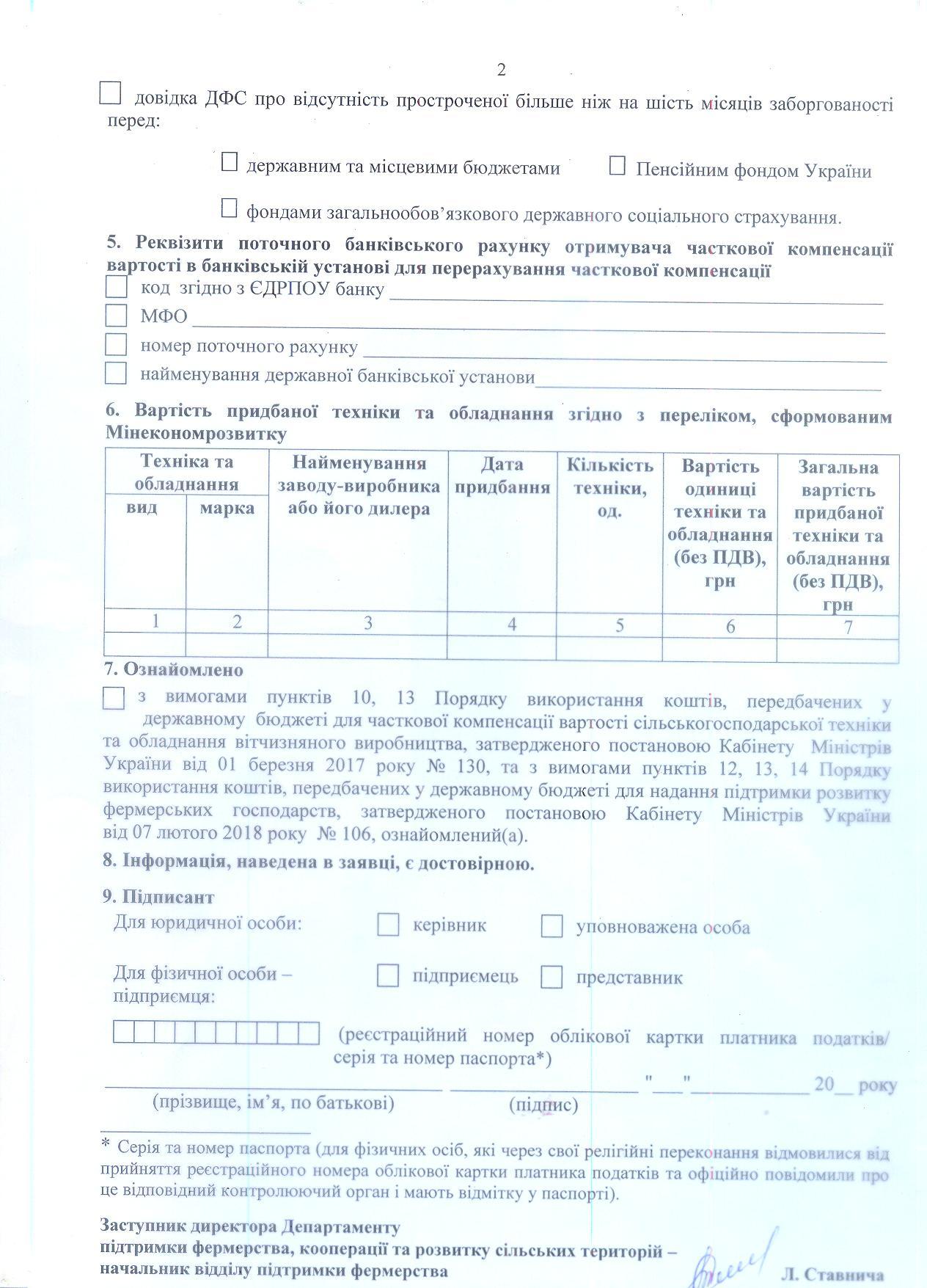 Наказ № 150 заявка 15% 2